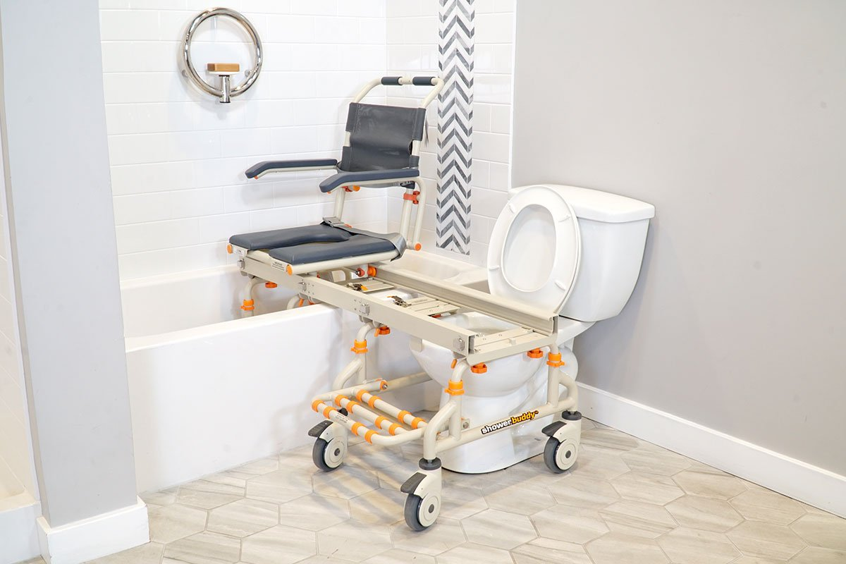 TubBuddy SB2 mobility product suitable for bathtubs