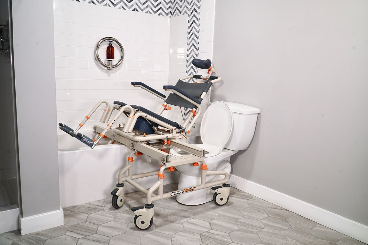TubBuddy Tilt SB2T mobility product suitable for bathtubs