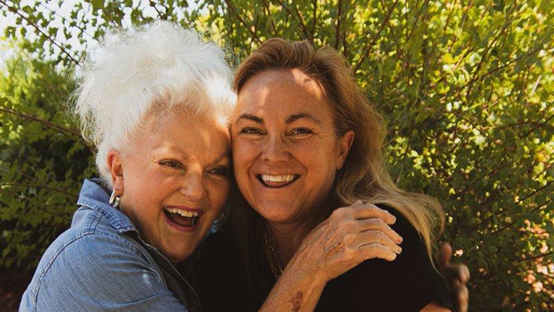 Support an elderly parent can be rewarding