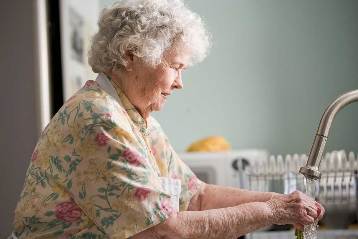 Caring for your elderly parent or grandparent
