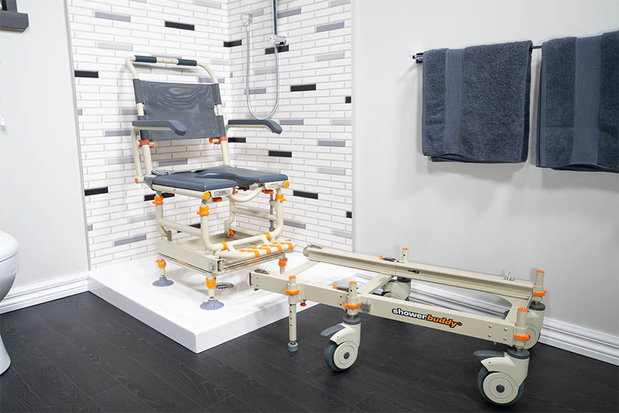 Showerbuddy mobility products